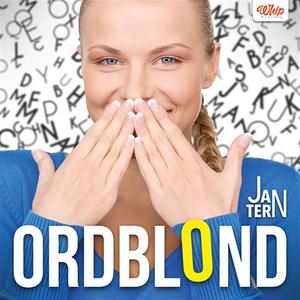 Ordblond (ljudbok) av Jan Tern