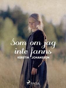 Som om jag inte fanns (e-bok) av Kerstin Johans