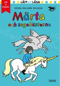 Märta och sagohästarna (e-bok) av Erika Eklund