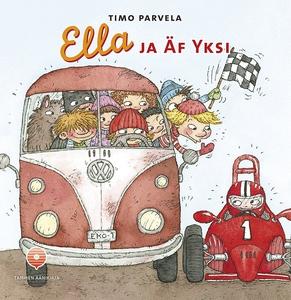 Ella ja Äf Yksi (ljudbok) av Timo Parvela, Mari