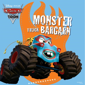 Bilar - Monstertruck Bärgarn (ljudbok) av Disne