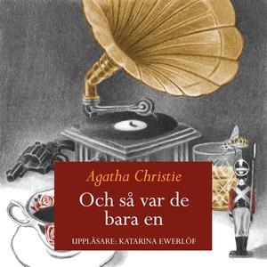 Och så var det bara en (ljudbok) av Agatha Chri
