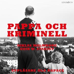 Pappa och kriminell (ljudbok) av Niklas Malmbor