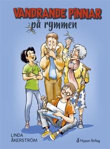 Vandrande pinnar på rymmen (ljudbok) av Linda Å