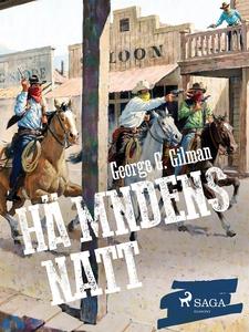 Hämndens natt (e-bok) av George G. Gilman