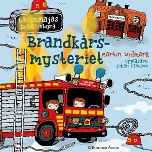 Brandkårsmysteriet (ljudbok) av Martin Widmark