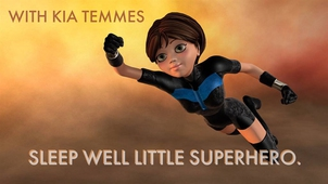 Sleep well little superhero-guided bedtime story and meditation for children