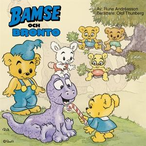 Bamse och Bronto (ljudbok) av Rune Andréasson