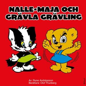 Nalle-Maja och Grävla Grävling (ljudbok) av Run