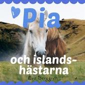 Pia och islandshästarna