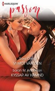 Vi mot världen/Kyssar av hämnd (e-bok) av Sarah
