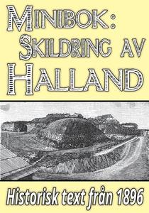Skildring av Halland – Återutgivning av text fr