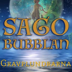 Sagobubblan : Gravplundrarna (ljudbok) av Cecil