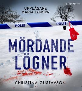 Mördande lögner (ljudbok) av Christina Gustavso