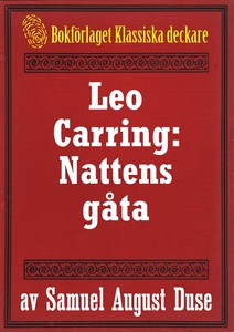 Nattens gåta. Privatdetektiven Leo Carrings mär