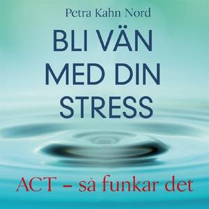 Bli vän med din stress (ljudbok) av Petra Kahn