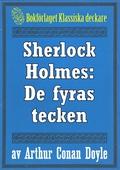 Sherlock Holmes: De fyras tecken – Återutgivning av text från 1911
