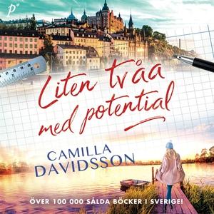 Liten tvåa med potential (ljudbok) av Camilla D