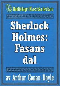 Sherlock Holmes: Fasans dal – Återutgivning av