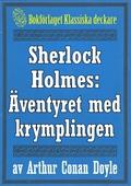 Sherlock Holmes: Äventyret med krymplingen – Återutgivning av text från 1947