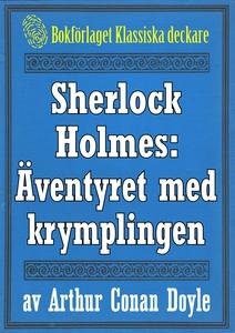 Sherlock Holmes: Äventyret med krymplingen – Åt