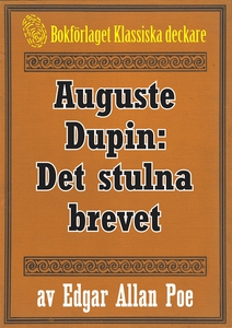 Auguste Dupin: Det stulna brevet – Återutgivnin