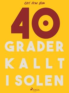 40 grader kallt i solen (e-bok) av Karl Arne Bl