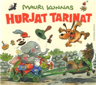 Hurjat tarinat (ljudbok) av Mauri Kunnas