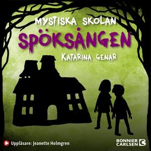 Spöksången (ljudbok) av Katarina Genar