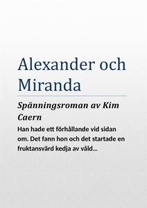 Alexander och Miranda (e-bok) av Kim Caern