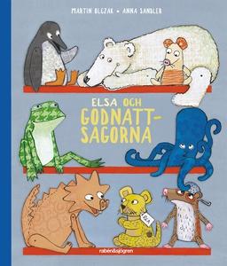 Elsa och godnattsagorna (ljudbok) av Martin Olc