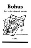 Minibok: Skildring av Bohus fästning år 1934 – Återutgivning av turistbroschyr