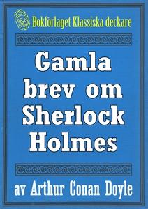 Gamla brev om Sherlock Holmes - Återutgivning a