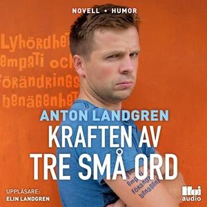Kraften av tre små ord (ljudbok) av Anton Landg
