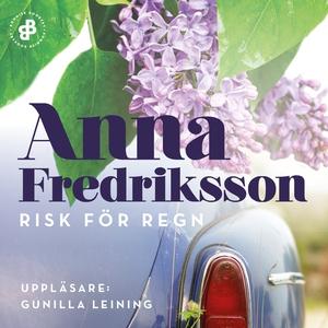 Risk för regn (ljudbok) av Anna Fredriksson
