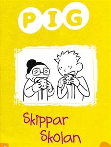 Pig skippar skolan (ljudbok) av Barbara Catchpo