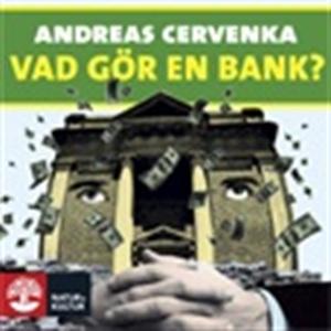 Vad gör en bank? (ljudbok) av Andreas Cervenka