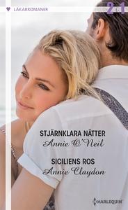 Stjärnklara nätter/Siciliens ros (e-bok) av Ann