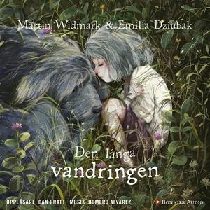 Den långa vandringen (ljudbok) av Martin Widmar