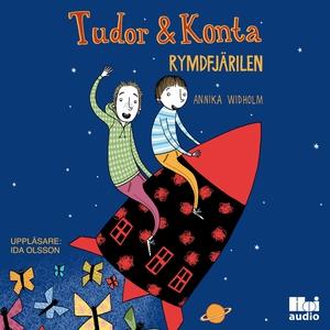 Tudor & Konta: Rymdfjärilen (ljudbok) av Annika