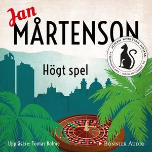 Högt spel (ljudbok) av Jan Mårtenson
