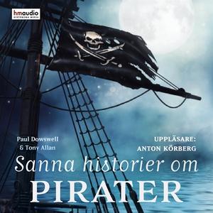 Sanna historier om pirater (ljudbok) av Lucy Le