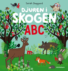 Djuren i skogen ABC (e-bok) av Sarah Sheppard