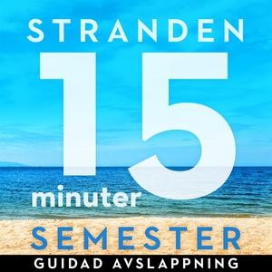 15 minuter semester - STRANDEN (ljudbok) av Ola