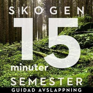 15 minuter semester - SKOGEN (ljudbok) av Ola R