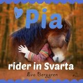 Pia rider in Svarta