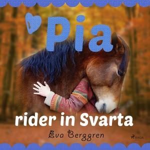 Pia rider in Svarta (ljudbok) av Eva Berggren