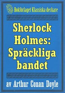 Sherlock Holmes: Äventyret med det spräckliga b