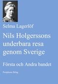 Nils Holgerssons underbara resa genom Sverige. Första och Andra bandet.