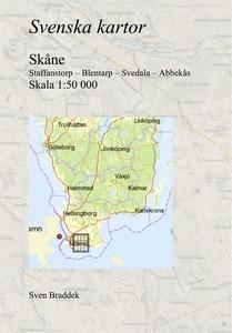 Svenska kartor. Staffanstorp – Blentarp – Sveda
